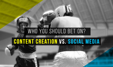 Who You Should Bet On? Content Creation Vs. Social Media | Social Media & Technology World:  News and views about all aspects of technology, social media, marketing and related topics. | Scoop.it