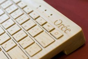 Orée, un clavier en bois à 80 % made in France | Geeks | Scoop.it