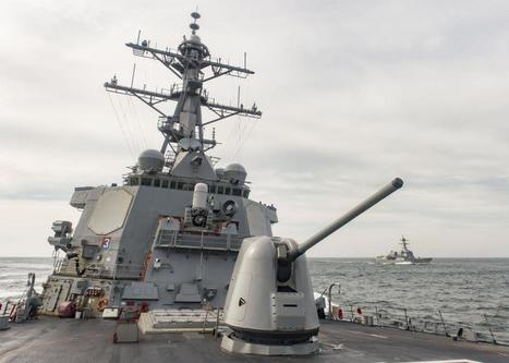 Yémen: L'US Navy de nouveau ciblée détruit plusieurs positions des Houtis | Mer & Enseignements | Scoop.it