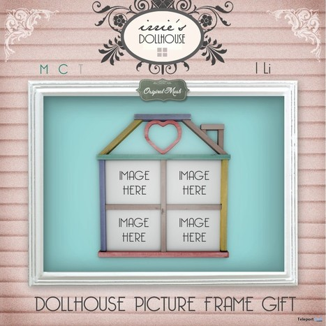Dollhouse Picture Frame Group Gift by irrie's Dollhouse | Teleport Hub - Second Life Freebies | Second Life Freebies | Scoop.it