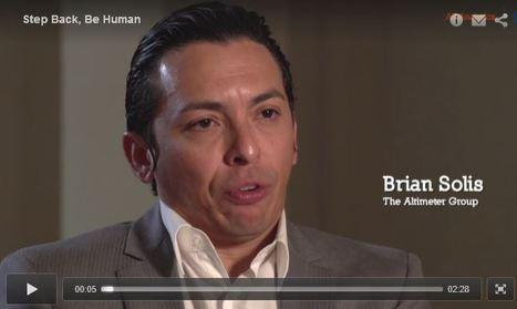 Brian Solis on making business more human | SAS | #SocBiz: Internet der Menschen | Scoop.it