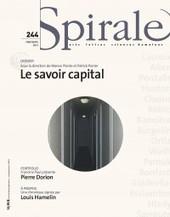 Le savoir capital : table-ronde et lancement   Culture critique   Scoop.it