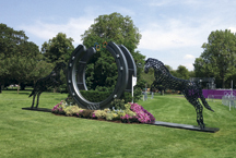 Greenwich Park's leaping horseshoe horses sell for £70,000 - Horse & Hound | Fran Jurga: Equestrian Sport News | Scoop.it