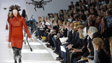 Drones and Dresses at Silicon Valley's First Fashion Week | The Robot Times | Scoop.it