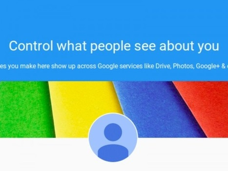Google About Me Gives You More Control Over The Personal Information You Share With The World | Online and Blended Teaching | Scoop.it