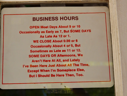What are your business hours? | Seriously Social News | Scoop.it