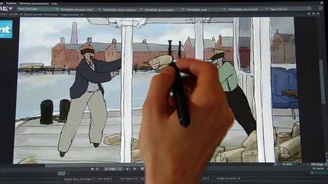 Colorir os velhinhos desenhos animados | Arte & design | Scoop.it