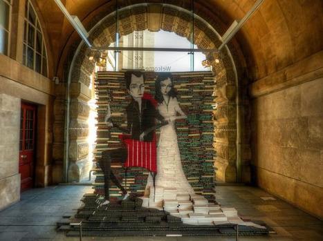 Esculturas hechas con libros | Promoción de la lectura: escuela y familia | Scoop.it