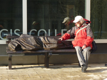 'Homeless Jesus' provokes debate on what it means to be Christian - Religion News Service | Brain Tricks: Belief, Bias, and Blindspots | Scoop.it