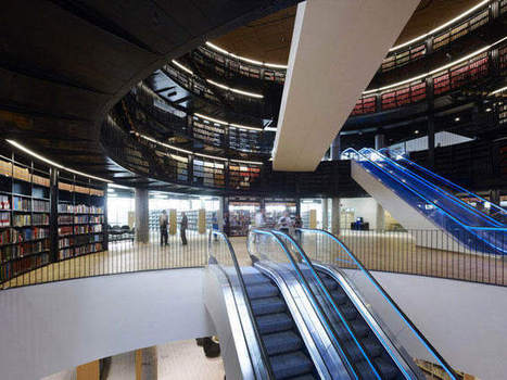 Le plus grand espace culturel européen a ouvert ses portes - Actumag Info   Architecture et aménagement en bibliothèque   Scoop.it