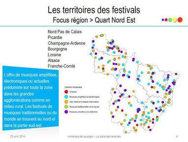 La carte des festivals | Music Industry News | Scoop.it