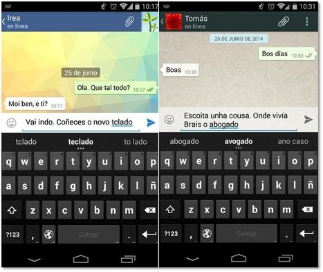A aplicación do mes: Teclado galego para Android, gañadora do concurso de apps de Faite Dixit@l! - Xente Dixital | Mobile Learning y apps educativas. Últimas tendencias, estudios, experiencias, recursos  y aplicaciones a utilizar | Scoop.it