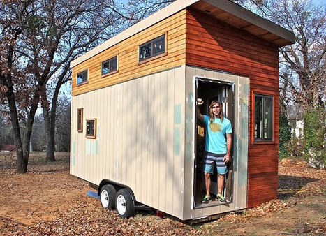 College Student Builds Tiny House to Graduate Debt-Free | Education Top Picks | Scoop.it