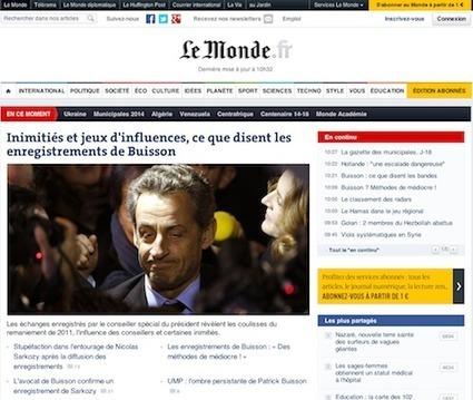 Le Monde se concentre sur le numérique | E-Transformation des médias (TV, Radio, Presse...) | Scoop.it