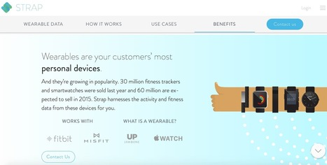 Strap - wearable analytics tool and mobile integration platform | Worth to Scoop it | Scoop.it