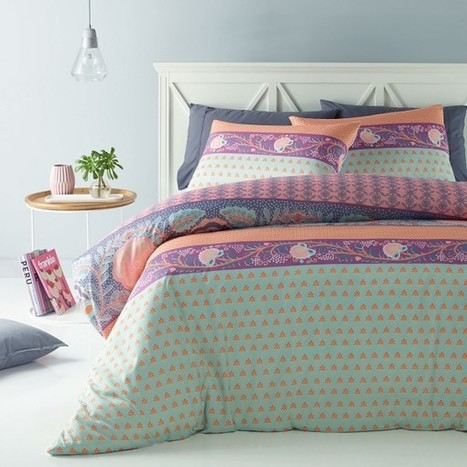 Ava Quilt Cover Set by Big Sleep - Manchester House | Soft Furnishings | Scoop.it