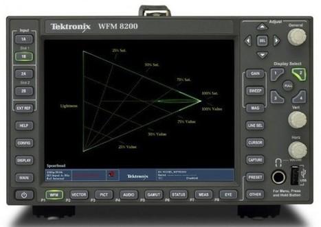 Tektronix actualiza a 4K su monitor en forma de onda WFM8300 | Panorama Audiovisual | Colorista | Scoop.it