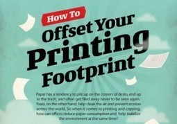 How to Reduce Your Paper & Printing Footprint (Infographic)   Peer2Politics   Scoop.it
