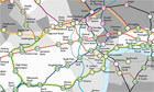 London Underground: 14 alternative Tube maps | Spatial Analysis | Scoop.it