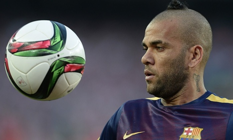 Dani Alves signs new two-year contract with Barcelona - The Guardian | AC Affairs | Scoop.it