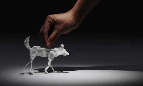 Folded tissue animals, brought to life in stop-motion animation | Books, Photo, Video and Film | Scoop.it