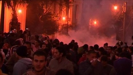 BBC News - Violent clashes continue between Cairo police and protesters   Coveting Freedom   Scoop.it