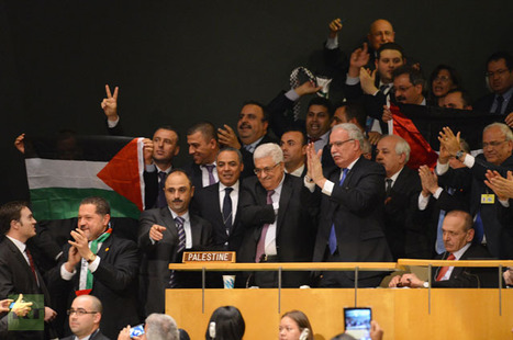 UN recognizes Palestinian State in Historic Vote - NN | Mapmakers | Scoop.it