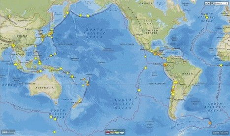 Are the Japanese and Ecuador earthquakes related? | Lorraine's Landscapes and Landforms | Scoop.it