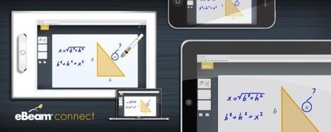 Le TBI mobile eBeam communique avec les Ipads, Iphones et autres périphériques mobiles | E-apprentissage | Scoop.it