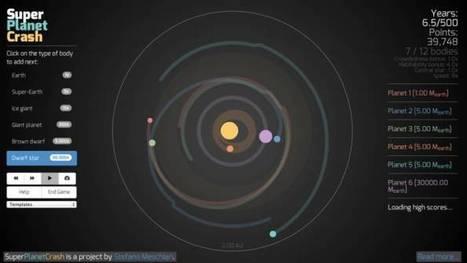 Un juego para crear tu propio Sistema Solar | educacion-y-ntic | Scoop.it