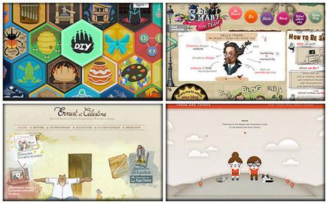 60+ Outstanding Examples of Hand Drawn Website Design | Creative Designers | Scoop.it