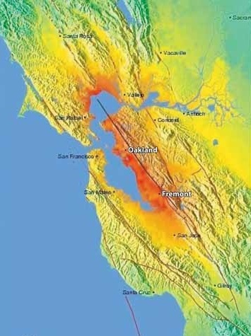 Creativity and Bay Area Innovation, Part IV: The Grinding Geology ... | Geographic Information Sciences | Scoop.it