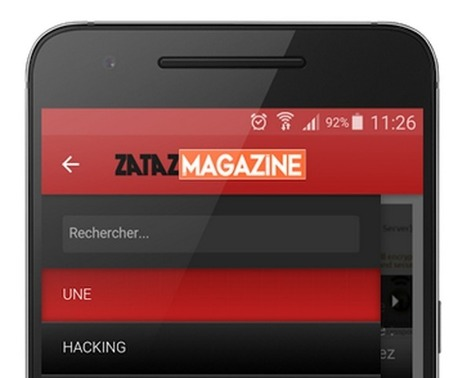 Applications ZATAZ pour votre smartphone et tablette - ZATAZ | Applications Iphone, Ipad, Android et avec un zeste de news | Scoop.it