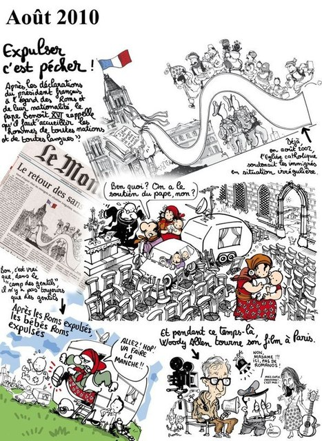 Expulser c'est pécher ! | Dessinateurs de presse | Scoop.it