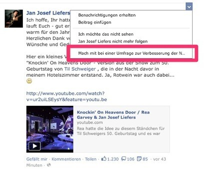 allfacebook.de | Newsfeed selbst optimieren mit Facebook-Umfrage | Social Media & Digital Marketing [deutsch|english] | Scoop.it