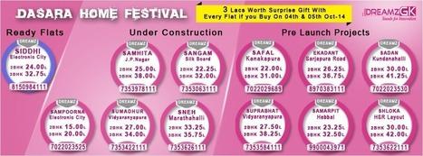 Dreamz Infra Dussehra Festival Offers on Flats / Apartments | Dreamz Infra Reviews | Scoop.it