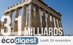 Les Européens décident aujourd'hui du sort de la dette grecque | Dette publique grecque | Scoop.it