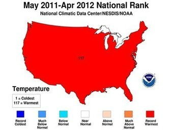 Last 12 Months Were Hottest on Record for US   The Glory of the Garden   Scoop.it