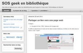 SOS geek en bibliothèque   -thécaires are not dead   Scoop.it