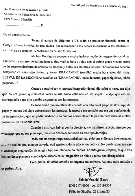 Una escuela tucumana 2 (Argentina)   Contra-hegemonías: salud, educación…   Scoop.it