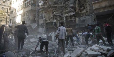 En Syrie, déluge de feu du régime et de la Russie pour briser Alep | Voix Africaine: Afrique Infos | Scoop.it