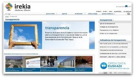El Gobierno Vasco lanza su portal de transparencia radical | Transparencia radical | Scoop.it
