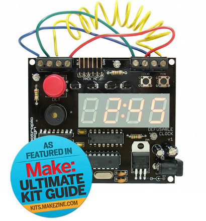 Defusable Alarm Clock Kit | Arduino Focus | Scoop.it