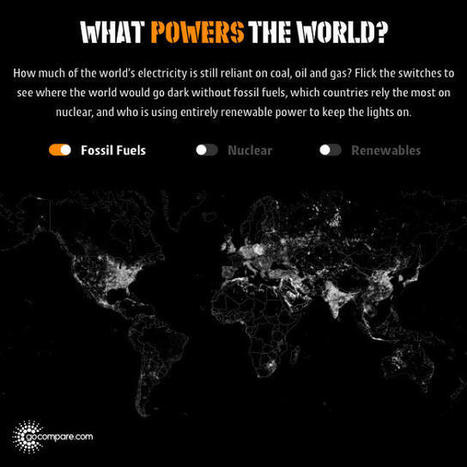 See Which Parts Of The World Still Run On Fossil Fuels With This Interactive Map | Real Estate Plus+ Daily News | Scoop.it