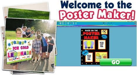 The Poster Maker | Web 2.0 for Education | Scoop.it