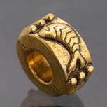 Golden Spacers Bead fit Pandora Charm Bracelet Fish 1pc [PI149] - $2.99 | Cute Pandora Charms on bracelet-bead.com | Scoop.it