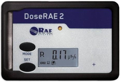 DoseRAE 2 (PRM-1200) personal dosage monitor radiation detector | Radiation Meter | Scoop.it