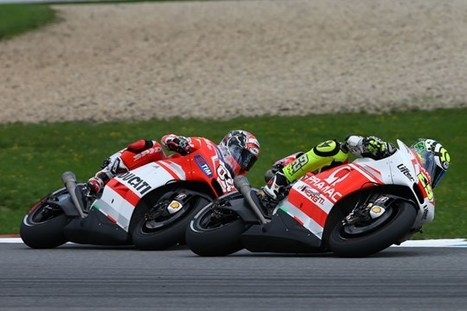 Andrea Iannone relishing Andrea Dovizioso battle | MCN | Ductalk Ducati News | Scoop.it
