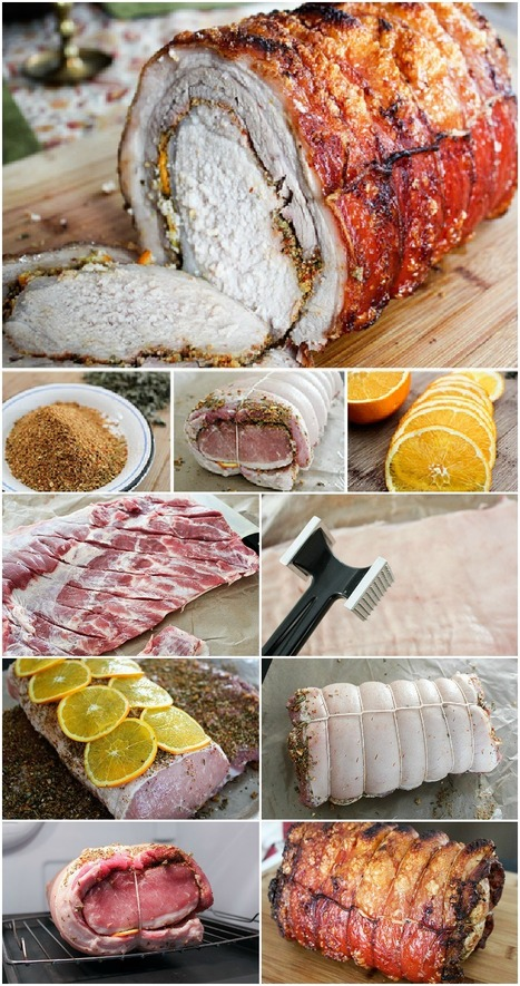 How to Make Porchetta at home | Italia Mia | Scoop.it