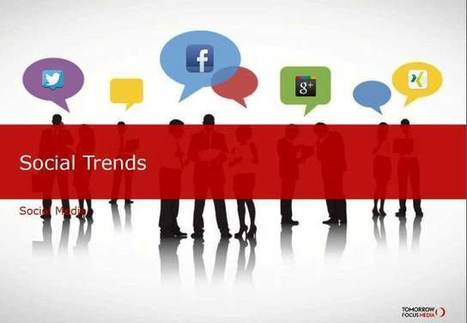 "Neue Studie ""Social Trends"" | Social Media für Unternehmen ... | Social - Media - Business | Scoop.it"